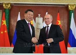 Chủ tịch Trung Quốc điện đàm với Tổng thống Nga