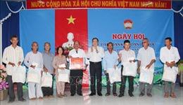 Đồng chí Trần Thanh Mẫn dự Ngày hội Đại đoàn kết toàn dân tộc tại Hậu Giang