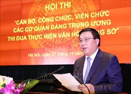 14 cơ quan Đảng Trung ương tham dự Hội thi thực hiện văn hóa công sở
