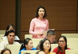 Kỳ họp thứ 8, Quốc hội khóa XIV: Không thể hạ thấp các chỉ tiêu phòng chống tội phạm
