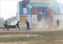 Việt Nam - Campuchia diễn tập cứu hộ, cứu nạn