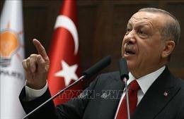 Thổ Nhĩ Kỳ thất vọng về các cam kết quốc tế đối với 'vùng an toàn' ở Syria