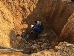 Chủ tịch TP Hà Nội chỉ đạo làm rõ vụ chôn lấp trái phép chất thải ở Sóc Sơn