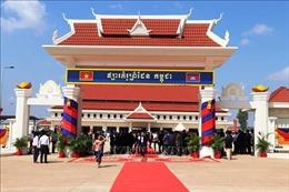Bàn giao chợ biên giới kiểu mẫu (Chợ Đa) cho Campuchia