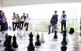 Nhiều trò chơi dân gian được tái hiện tại Ngày hội thể thao trí tuệ 2019