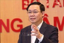 Phó Thủ tướng Vương Đình Huệ chủ trì cuộc họp Hội đồng tư vấn chính sách, tài chính, tiền tệ quốc gia