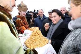 Chủ tịch Quốc hội tới thành phố Kazan, bắt đầu thăm chính thức LB Nga