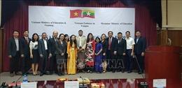 Tăng cường hợp tác giáo dục Việt Nam - Myanmar