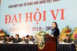 Đại sứ Nguyễn Phương Nga tiếp tục giữ chức Chủ tịch Liên hiệp các tổ chức hữu nghị Việt Nam