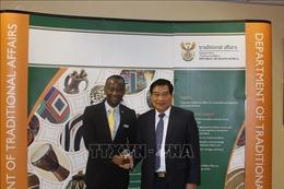 Đoàn công tác Hội đồng Dân tộc của Quốc hội Việt Nam thăm làm việc tại Nam Phi