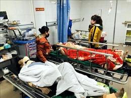 Tích cực chữa trị các nạn nhân trong vụ tai nạn lao động rơi thang cuốn