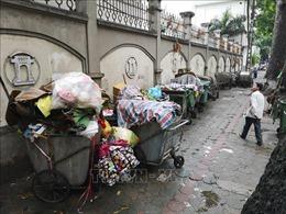 Hà Nội điều chỉnh phân luồng vận chuyển rác tạm thời