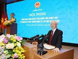 Phát biểu của Tổng Bí thư, Chủ tịch nước tại Hội nghị Chính phủ với các địa phương