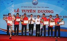 Tây Ninh: Tuyên dương vận động viên đạt thành tích xuất sắc tại SEA Games 30