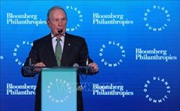 Tỷ phú M.Bloomberg chi 'khủng' cho quảng cáo