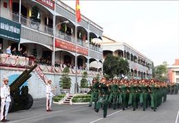 Xây dựng lực lượng vũ trang TP Hồ Chí Minh vững mạnh toàn diện