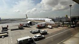 Singapore Airlines tạm ngừng khai thác hai máy bay Boeing 787-10 Dreamliner