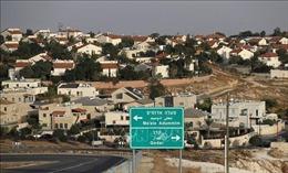 Palestine chỉ trích các tuyên bố của giới chức Israel về sáp nhập Bờ Tây