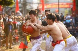 Lễ hội vật cầu truyền thống làng Thuý Lĩnh