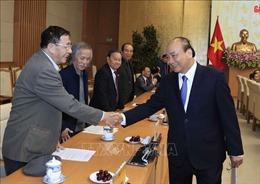 Thủ tướng gặp mặt Đoàn đại biểu các tổ chức Chính trị - Xã hội và Hội quần chúng