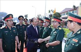 Thủ tướng Nguyễn Xuân Phúc thăm và chúc Tết Trường Sỹ quan Lục quân 2