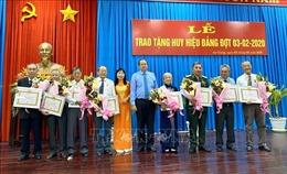 An Giang trao Huy hiệu Đảng cho 26 đảng viên cao tuổi Đảng