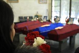 Lễ truy điệu các nạn nhân thiệt mạng trong vụ cháy nhà kính trồng rau ở ngoại ô Moskva