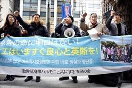 Nạn nhân lao động cưỡng bức Hàn Quốc tiếp tục khởi kiện công ty Nhật Bản