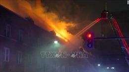 Cháy nhà khi bố mẹ đi vắng, bốn trẻ em thiệt mạng thương tâm