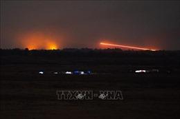 Israel không kích căn cứ không quân Syria