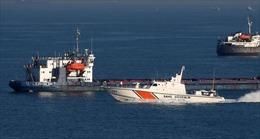 Tàu đánh cá Thổ Nhĩ Kỳ bị chìm sau khi đâm vào tàu chở dầu của Nga