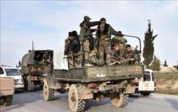 Quân đội Syria giành lại thành phố chiến lược Saraqeb