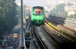 Vận hành thử đường sắt Cát Linh - Hà Đông ngay sau khi chuyên gia Trung Quốc trở lại