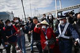 Rời tàu Diamond Princess, trên 150 công dân Australia tiếp tục bị cách ly 2 tuần
