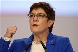Chủ tịch CDU ở Đức bất ngờ tuyên bố không tranh cử thủ tướng