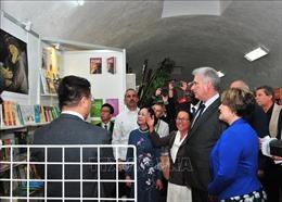 Khai trương gian triển lãm của Việt Nam tại Hội chợ Sách quốc tế La Habana