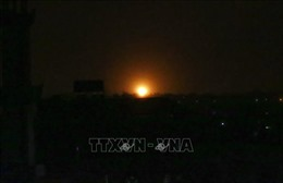 Israel tấn công các mục tiêu ở Dải Gaza nhằm trả đũa Hamas