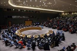 Hội đồng Bảo an Liên hợp quốc thảo luận về tình hình Israel - Palestine