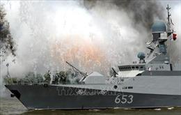 Nga triển khai tàu chiến trang bị tên lửa hành trình tới gần Syria