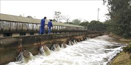 Hà Nội còn một số địa phương tỷ lệ lấy nước cho vụ Xuân đạt thấp