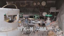 Phát hiện cơ sở sang chiết gas trái phép ở Mỹ Hào, Hưng Yên