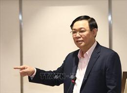 Dịch COVID-19: Bí thư Thành ủy Hà Nội họp bàn giải pháp gỡ khó cho doanh nghiệp