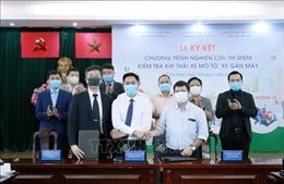 Nghiên cứu thí điểm kiểm tra khí thải xe máy tại TP Hồ Chí Minh