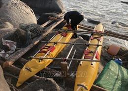 Ba người Nga gặp nạn khi du lịch đảo Hòn Tre bằng phương tiện tự chế