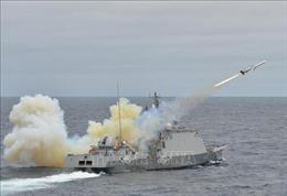 Nổ lựu đạn trên tàu Hải quân Hàn Quốc