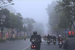 Bắc Bộ có sương mù gây ảnh hưởng chất lượng không khí
