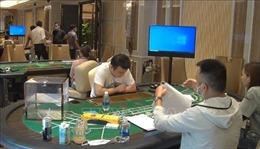 Triệt phá sòng bạc của người nước ngoài trong khu nghỉ dưỡng hạng sang Đà Nẵng