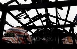 Mưa dông khiến 1 người bị thương, 98 căn nhà bị tốc mái tại Thái Nguyên