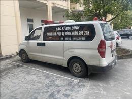 Lật tẩy 'chiêu trò' dùng xe cứu thương vận chuyển khẩu trang không rõ nguồn gốc