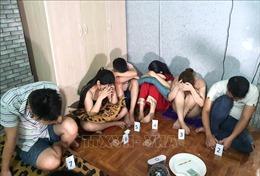 Hà Giang bắt quả tang nhóm nam nữ sử dụng trái phép chất ma túy